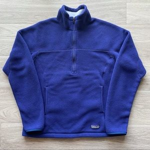 Patagonia Synchilla fleece sweater women's size L.